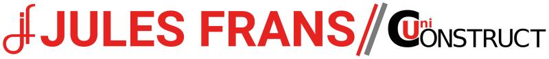 Logo Jules Frans en uniconstruct breed