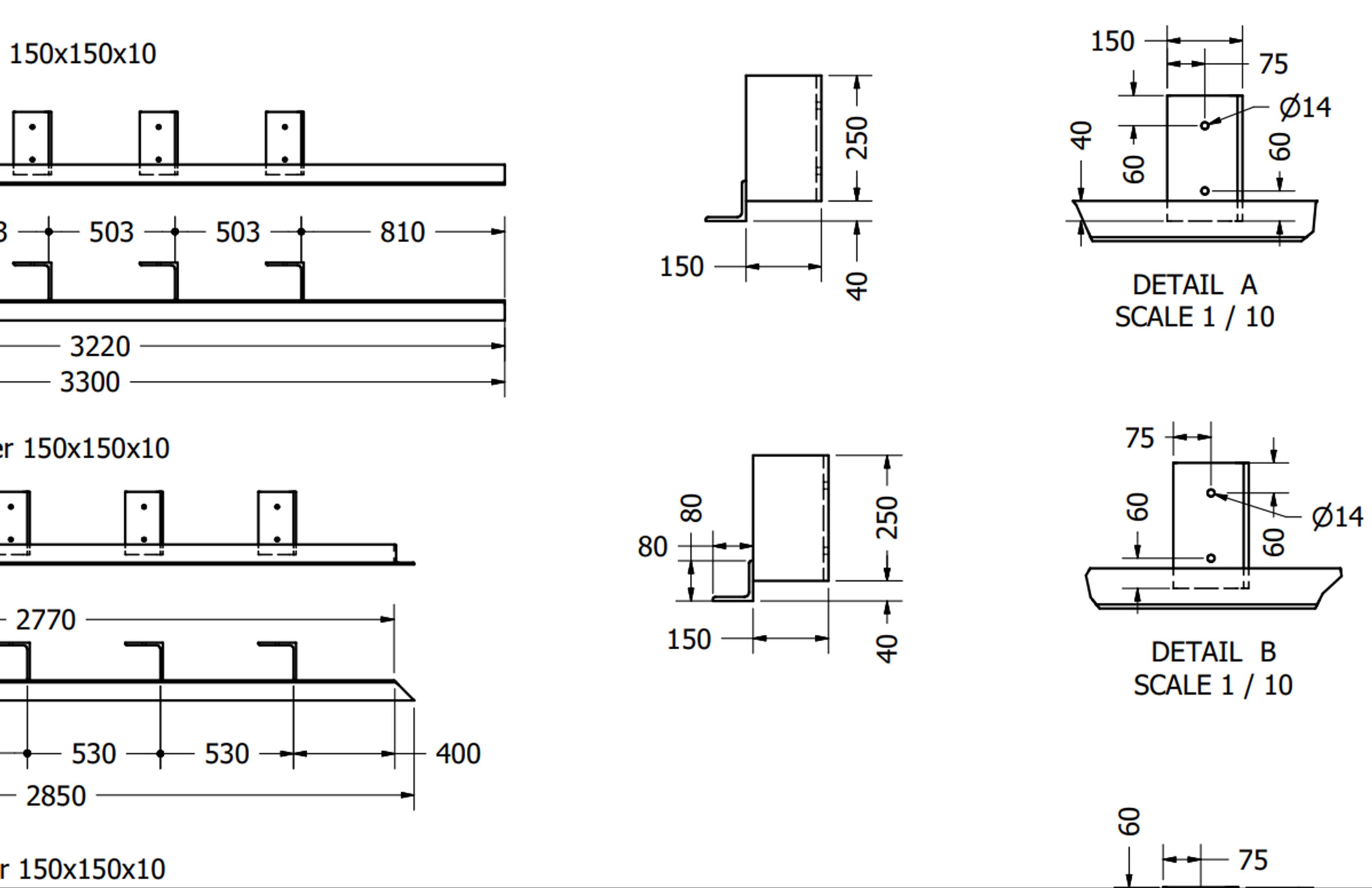 Foto plannen staalconstructie